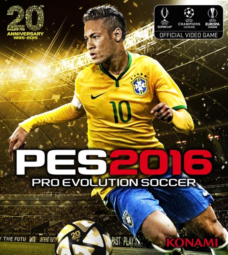 实况足球2016_《实况足球2016》发售日和封面公布