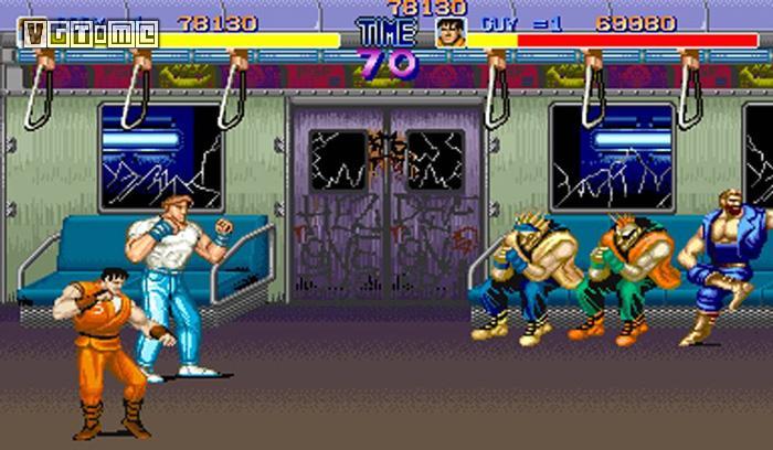 2d清版动作游戏的开山之作《快打旋风》(final fight),真正的《街头